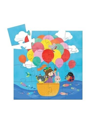 Djeco Djeco Dekoratif Puzzle Balloon Pembe